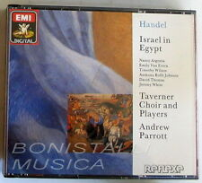 Handel ISRAEL IN EGYPT - ARGENTA, VAN EVERA, WILSON, PARROTT - 2 CD New Unplayed