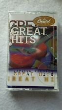 "CassetteTape *Sealed* ""Capitol Records Great Hits""  Various  Rock/Country/Jazz"