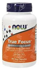 Now Foods, True Focus Con tirosina-Taurina-fenilalanina - 500mg x90vcaps