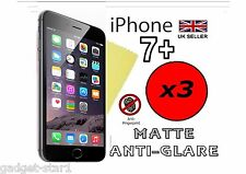 3x HQ ANTI GLARE MATTE SCREEN PROTECTOR COVER APPLE IPHONE 7 PLUS IPHONE 7+ 2016