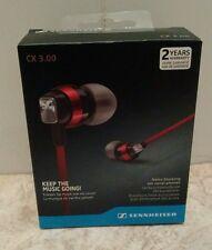 Sennheiser CX 3.00 In Ear Canal Earphones Headphones - Red