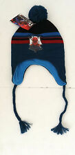Marvel Ultimate Spider-Man Boy's Pom Ear Flap Hat ONE SIZE FITS MOST NEW