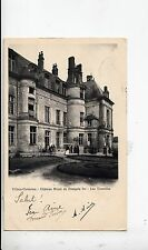 BF16367 villers cotterets chateau royal de francois I france front/back image