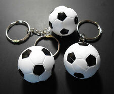 3  SOCCER BALL  KEY CHAINS