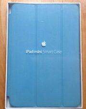 GENUINE APPLE iPAD MINI 1 2 3  SMART CASE LEATHER LIGHT BLUE
