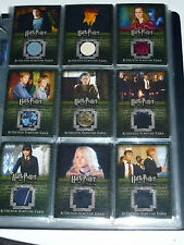 HARRY POTTER ORDER OF PHOENIX MASTER SET FILM + COSTUME CARD + BONUS OOTP NOT UP
