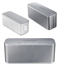 Genuina SAMSUNG nivel Box Mini Slim Altavoz de Audio Bluetooth Inalámbrico NFC plata