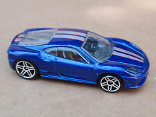 2014 Hot Wheels FERRARI 430 SCUDERIA from 5 Pack LOOSE Blue
