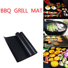 2Pcs BBQ Grill Mats barbecue pad Reusable NON-Stick Surface Hot Plate Mat Baking