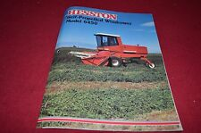 Hesston 6450 Self Propelled Windrower Dealer's Brochure DCPA2