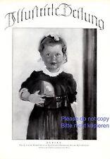 Ulrike XL Kunstdruck 1925 von Hermann Grom Rottmayer * † Wien Mädchen Ball
