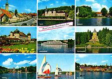Rund um den Starnberger See ; Ansichtskarte gel.