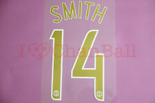 Smith #14 2006-2007 Manchester United CL Homekit Nameset Printing