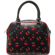 Sourpuss Cherry Bowler Purse Retro Rockabilly Pinup