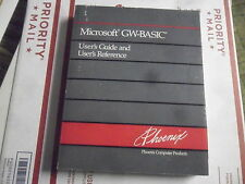 Phoenix MS-DOS with GW-BASIC -  User Guide Reference