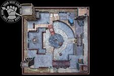 Venice City Quarters, hand-crafted, pro-painted 3D playing board for Malifaux