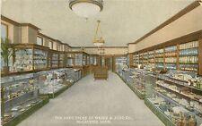 Minnesota, MN, Rochester, Drug Store of Weber & Judd Co 1910's Postcard