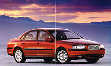 2000 VOLVO S80 / S-80 Brochure / Catalog with Color Chart: 2.9, T-6, T6