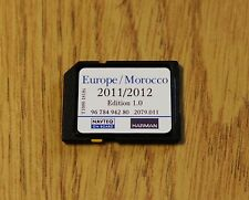 GENUINE PEUGEOT CITROEN SAT NAV NAVIGATION SD CARD UK EUROPE 2015 / 2016 RNEG !!