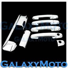 Triple Chrome 4 Door Handle+Tailgate Camera hole Cover For 05-15 Toyota Tacoma