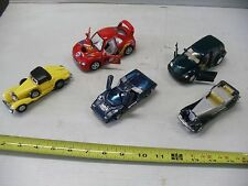 LOT MISC TOY CARS TRUCKS CADILLAC MERCEDES CAMARO PICKUP HESS TRUCK