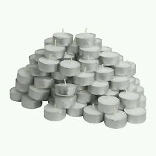 IKEA PACK OF 100 GLIMMA TEA LIGHTS CANDLES  4 HOUR BURNING TIME 38mm WIDE