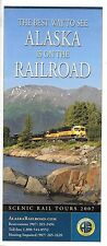 THE BEST WAY TO SEE ALASKA IS RAILROAD TOURS