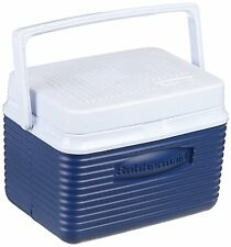 RUBBERMAID 5 QUART 6 PACK COOLER 2A09-04 BLUE LUNCH BOX SIZE - NEW
