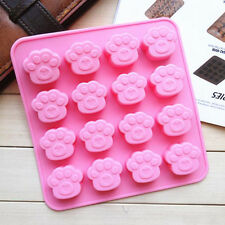 Fondant Mold Tool Soap Silicone Cookie Sugarcraft Mould Cake Cat Dog Paw