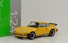 1975 Porsche 911 930 3.0 turbo gelb 1:24 Welly