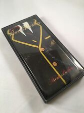 NIB Brooks Brothers Hardshell Case iPhone 6 Black Suit/Tie - Yellow/Red Accents