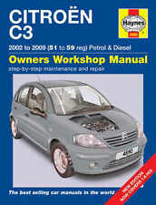 Citroen C3 Repair Manual Haynes Manual Workshop Service Manual  2002-2009  4890