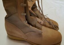 NWT McRae Army Combat Boots Hot Weather Tan 9.5 WIDE 9.5W