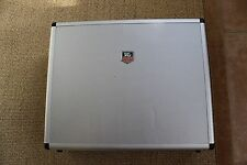 TAG Heuer watch Steel Briefcase Laptop Case Aluminum Locking Rubber Handle EUC