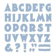 "Quickutz/Lifestyle Crafts DA0238 ""Manhattan Alphabet"" 1 Cutting Die NEW"