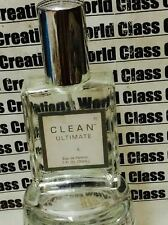 CLEAN ULTIMATE FOR WOMEN - 1.0 OZ/30 ML EDP SPRAY- NO BOX -READ DESCRIPTION