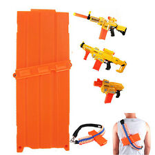 Bullet Cartridge Holder Clip Hold Foam Nerf Dart N-Strike Gun 22cm*7.8cm*2.6cm C