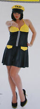 Taxi Costume / Dress for adults Carnival Halloween Size m