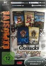 5x COSSACKS 1 2 in der ANTHOLOGY Back To War European Wars Battle for Europe NEU