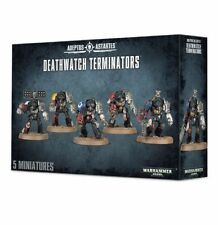 Warhammer 40k Space Marines Deathwatch Terminators NIB