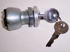 UNIVERSAL IGNITION SWITCH 3 POSITION TRIUMPH BSA NORTON CHOPPER BOBBER CAFE KEYS