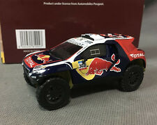 PEUGEOT 2008 DKR 1:43 DAKAR 2015, IXO, Red Bull #302 DIECAST, NEW IN BOX