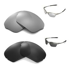 New Walleva Polarized Black + Titanium Lenses For Oakley Half X