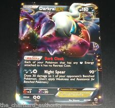 Darkrai EX 63/108 BW Dark Explorers Set NEAR MINT Holo Rare Pokemon Card