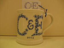 Crabtree and Evelyn Limited Edition 2014 Stoneware Annual Burleigh Ironstone Mug