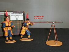 KING AND COUNTRY IC042 IMPERIAL COLLECTION CHINESE MATCH LOCK GUN TEAM B SET