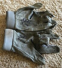 Didi Gregorius Game USED 2015 BATTING GLOVES autograph SIGNED Yankees worn