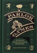 Parlor Games: Amusements and Entertainment for Everyone-ExLibrary