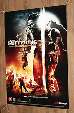 The Suffering Ties That Bind very rare Promo Poster 60x42cm Playstation 2 Xbox