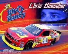 """2014 CHRIS BUESCHER """"BIT-O-HONEY"""" #60 NASCAR NATIONWIDE SERIES POSTCARD"""